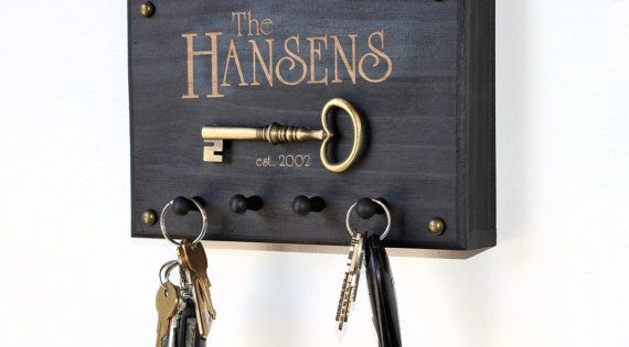 Key Holder Personalized Key Holder Key Rack