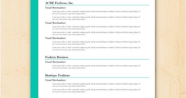 cute resume templates 2015