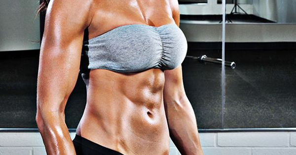 Fitness model Lindsay Kaye