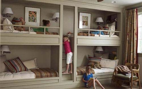 Bunk Beds - Builtin