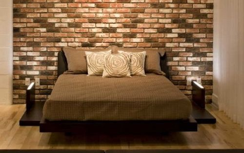 These 6 Pieces Of Colorful Furniture Are Absolute Must Haves: DIY Ideas To Decorate A Brick Wall Behind Your Bed