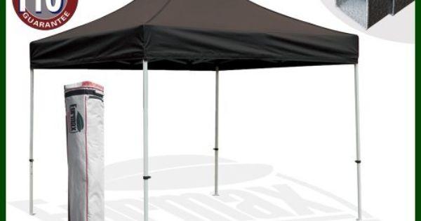 Eurmax Std Canopy With Wheels Bag 10x10feet Black By Eurmax