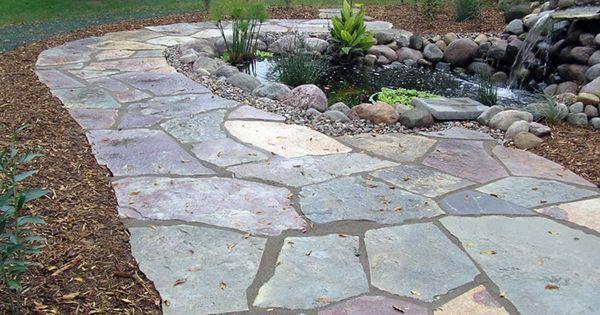 DIY Flagstone Walkway Installation Tutorial Charming Gardening Ideas Flag