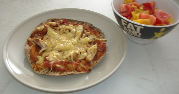Pita pizzas, Pizza and Healthy on Pinterest