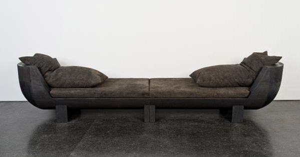 Rick owens furniture daybed project gotham pinterest for Furniture 89014