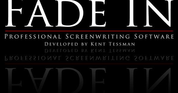 fade in screenwriting software crack