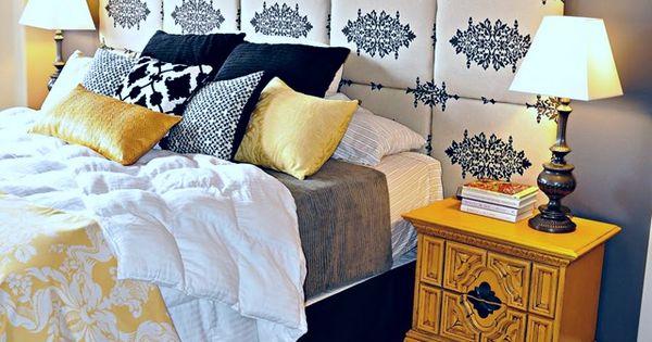 Master Bedroom DIY Headboard