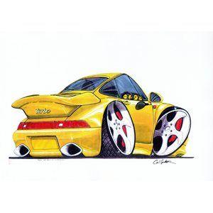 Funny Cartoon Car With Images Cool Car Drawings Car Artwork