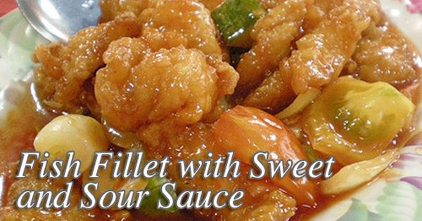 Fish Fillet With Sweet And Sour Sauce Panlasang Pinoy Meat Recipes Fish Fillet Recipe Breaded Fish Fillet Recipe Recipes
