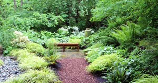 Lytle Road Bainbridge Island Shaded Creek Wa Rock Garden Landscaping Shade Garden Plants Garden Landscape Design