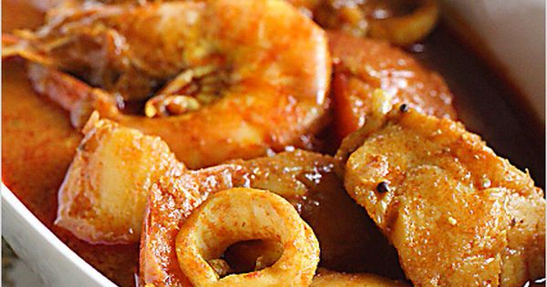 Seafood Curry Recipe (Malaysian Indian-Style)   Indian ...