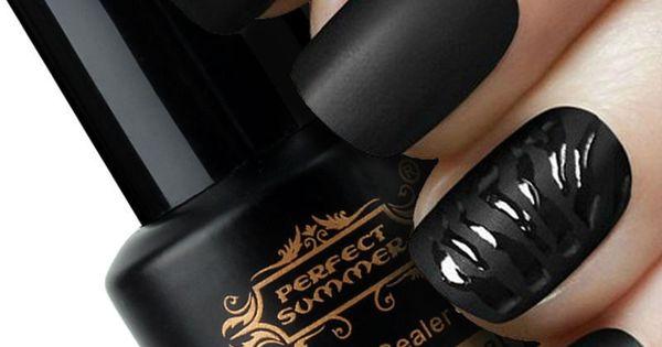 perfect summer matt top coat nail art uv gel polish matte top coat led uv soak off nails tools. Black Bedroom Furniture Sets. Home Design Ideas