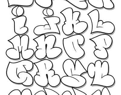 Graffiti alphabet ... I know some students would feel more engaged just