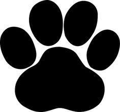 File Black Paw Svg Cricut Svg Dog Paw Print