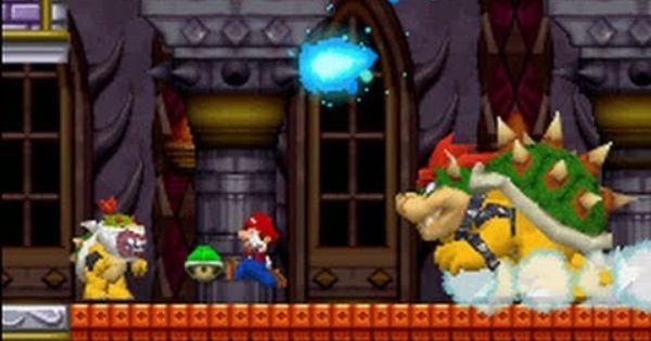 New Super Mario Bros Ds 100 Walkthrough World 8 Final Boss