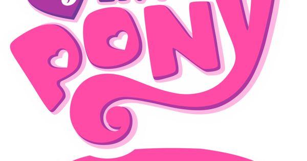 My Little Pony Logo Clip Art My Little Pony Empty Logo