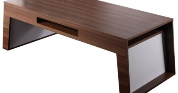Enitial Lab Easton Rectangular Coffee Table Walnut By Enitial Lab