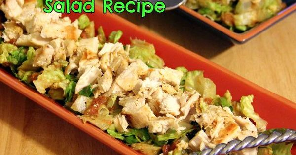 Paleo Diet: Southwestern Chicken Salad Recipe weightloss diet paleo