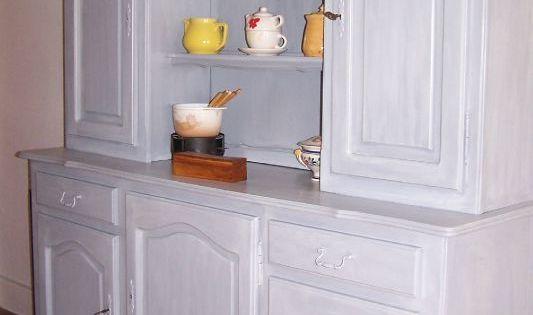 buffet apres relookage sans decapage avec les produits eleonore deco relooking meubles. Black Bedroom Furniture Sets. Home Design Ideas