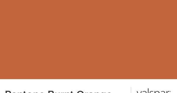 pantone burnt orange from valspar renovations. Black Bedroom Furniture Sets. Home Design Ideas