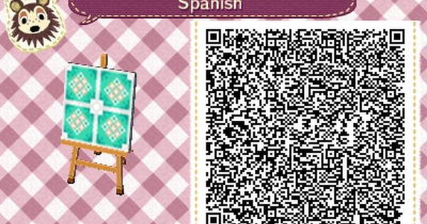 Spanish Tiles By Ameon Na Deviantart Com On Deviantart Qr Codes Animals Qr Codes Animal Crossing Animal Crossing Qr