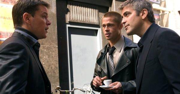 Matt Damon Stars As Linus Caldwell Ocean S 11 12 13 Oceans Twelve Brad Pitt Matt Damon