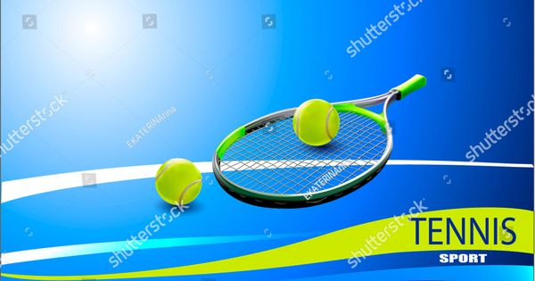 Vector Tennis Ball A Realistic Object And Sports Background For Posters Leaflets For World Tennis Competitions Vector Tennis Ball Tennis Best Resume Template