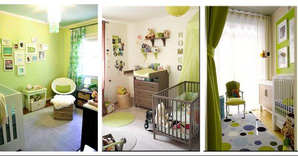 Ambiance chambre b b vert anis id e chambre b b mixte for Ambiance chambre bebe