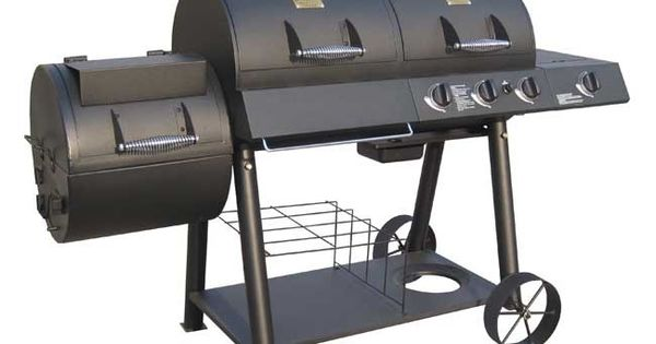 Oklahoma Joe S Longhorn Charcoal Amp Gas Offset Smoker