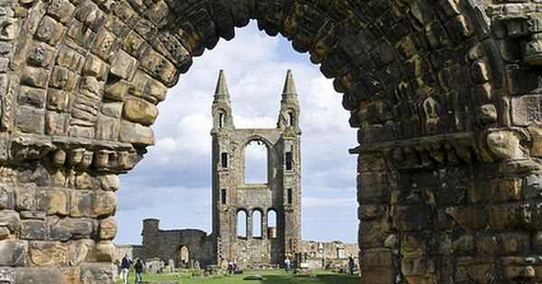 St. Andrews cathedral ruins, Fife, Scotland. 12th c.On the bucket list!