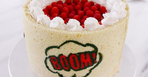 Flaky Birthday Berry Pie With Celebratory Jaconde Recipe With