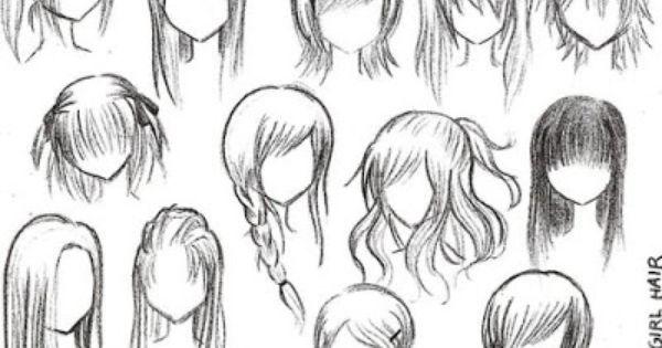 How To Draw Full Body Anime Comment Dessiner Des Cheveux Cheveux Manga Dessin De Cheveux