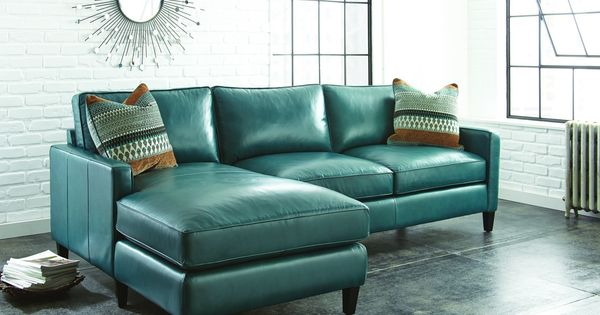 Teal Green Leather Sectional Sofa Google Search Sofas