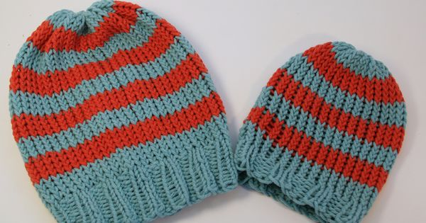 Loom Knitting Patterns For Beginners : Basic loom knit hats for beginners free pattern