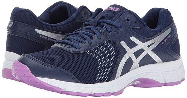 ASICS Gel Quick Walk Womens Gray Mesh
