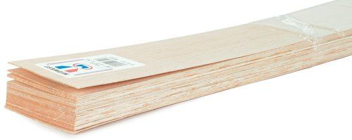 Balsa Wood Sheet 36 1 32 X3 20 Per Pack Wood Art Sets For Kids Arts And Crafts Supplies