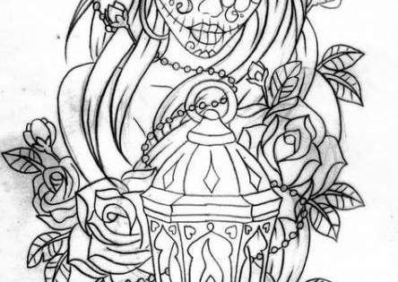 55 Trendy Drawing Halloween Adult Coloring Drawing Printable