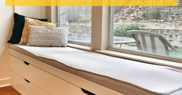 Diy Window Seat From Ikea Stolmen Drawers A Better Depth