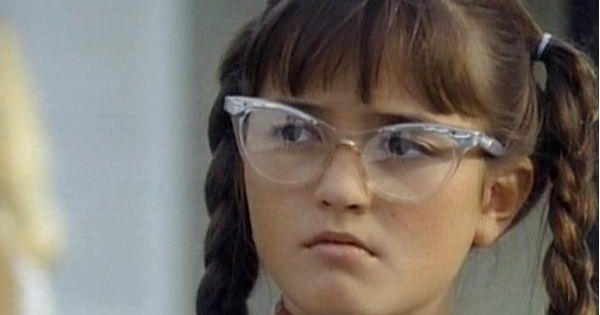 """Danica McKellar as Winnie Cooper in """"The Wonder Years"""""""
