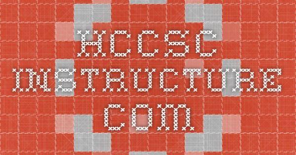Hccsc Instructure Com Hccsc Pinterest