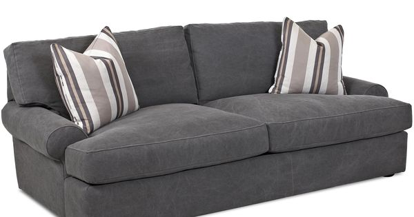 Living Room Sofa Adelyn Sofa By Klaussner At Kensington