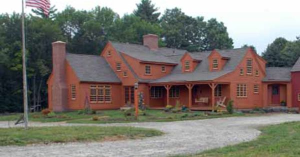 Early New England Homes Home Plans Pinterest Beams