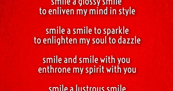 poems to make a girl smile once more smile | Cute Love ...