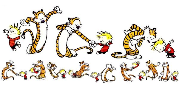 Art Calvin Hobbes - calvin-and-hobbes wallpaper a-boy-and-his-tiger