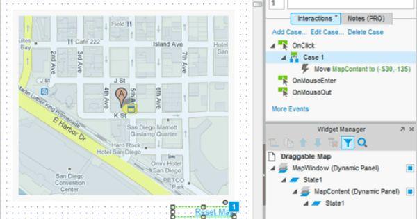 Draggable Map Tutorial Axure Map Tutorial Interactive