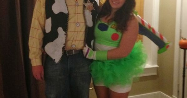 Woody and buzz, Woody and Couple halloween costumes on Pinterest