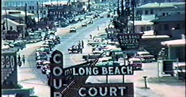 Long Beach Court And Front Beach Rd Us98 In The 1950 S Panama City Beach Florida Panama City Beach Panama City Beach Florida Panama City Panama