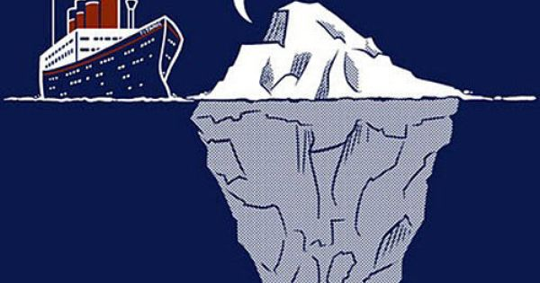 funny iceberg Titanic crash clipart – Free Clip Art