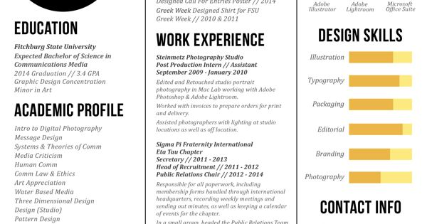 great three column resume design by zachary sawtelle for