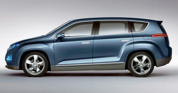 Gm Unveils Chevy Volt Mpv5 Electric Crossover Vehicle Chevrolet